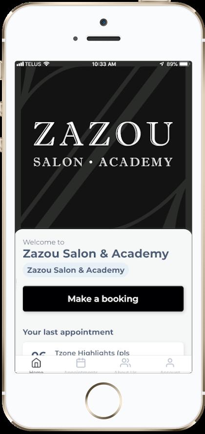 Zazou Phone App